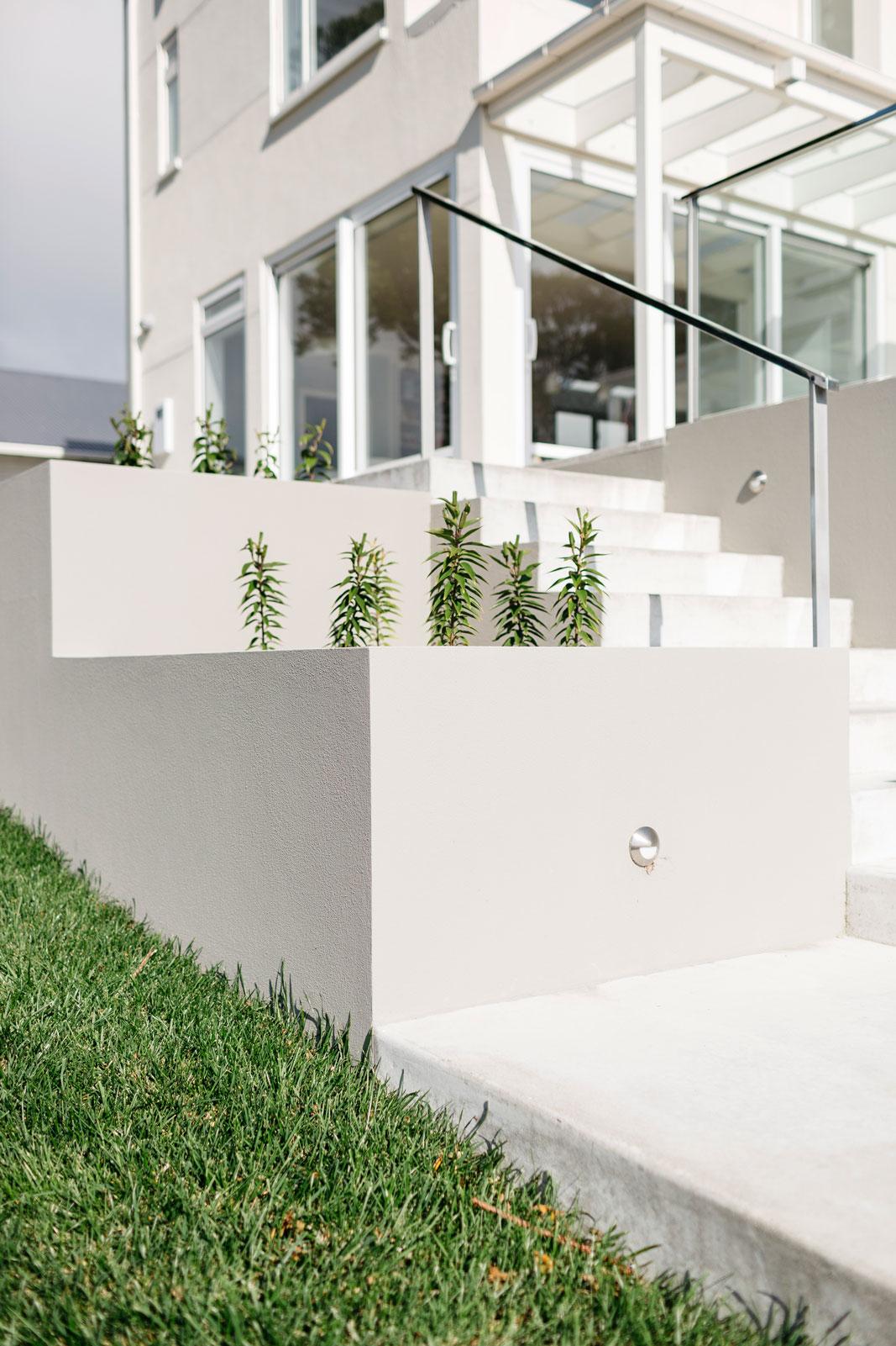 Plastering Landscape Walls